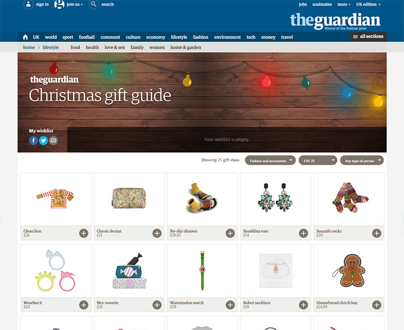 Guardian Christmas Gift Guide