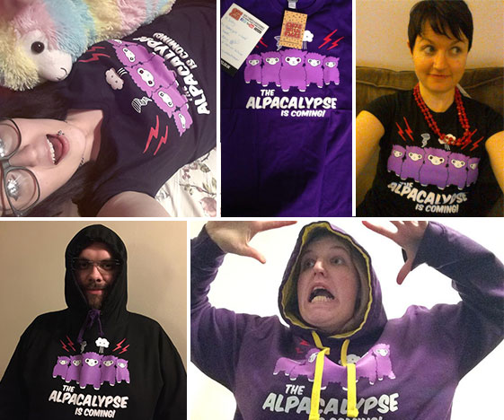 Alpacalypse customer photos