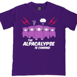 Alpacalypse Mens Alpaca T-Shirt