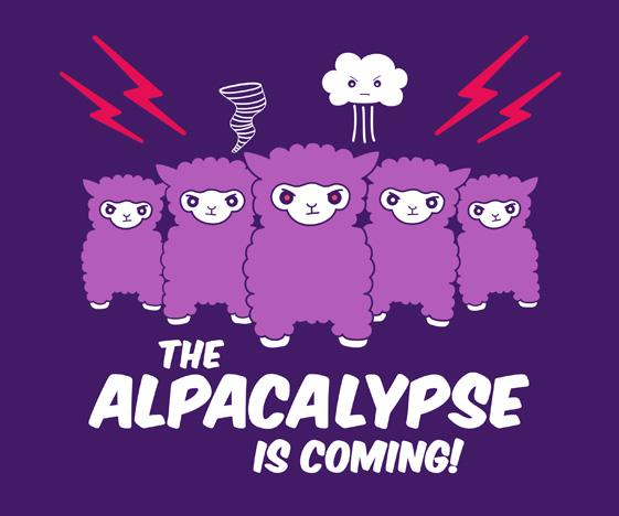 Alpacalypse Alpaca T-Shirt