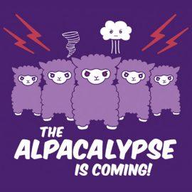 Alpacalypse - alpaca design