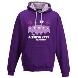 Alpacalypse hoodie