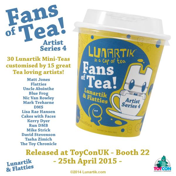 Fans of Tea - Custom Lunartik Mini Teas