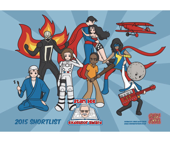 Stan Lee Excelsior Award Poster