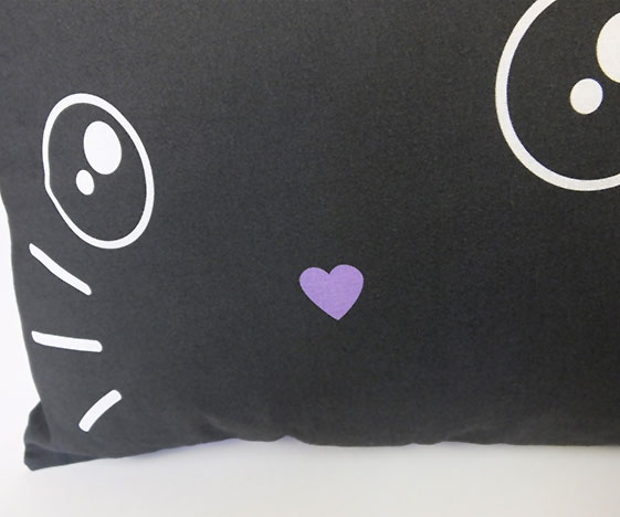 Kawaii bunny rabbit pillow