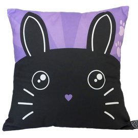 Cute bunny rabbit cushion