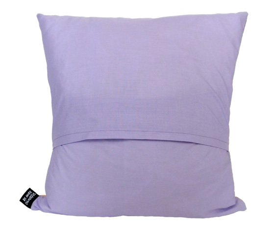 Lilac cushion back