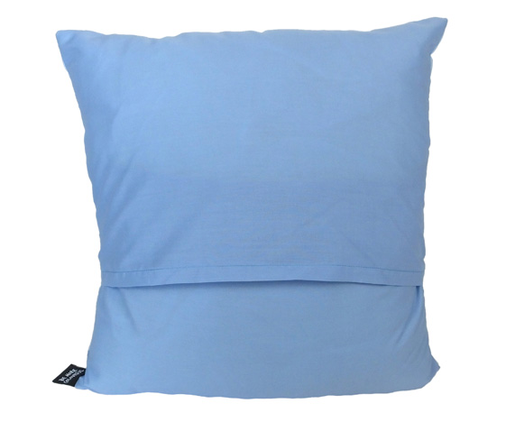 Pastel blue cushion