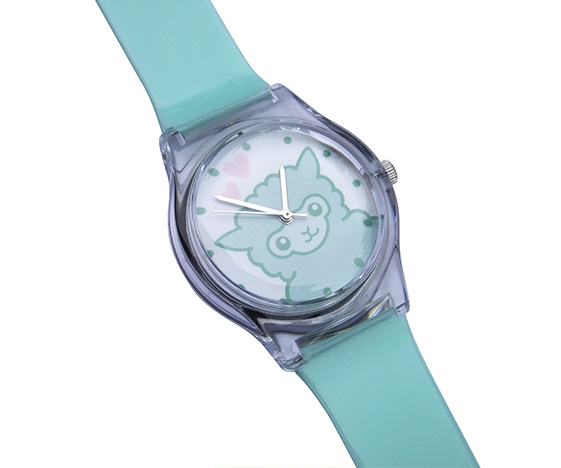 Kawaii alpaca watch