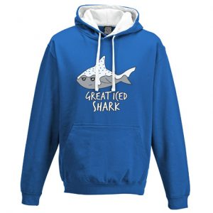 Great Iced Shark Hoodie