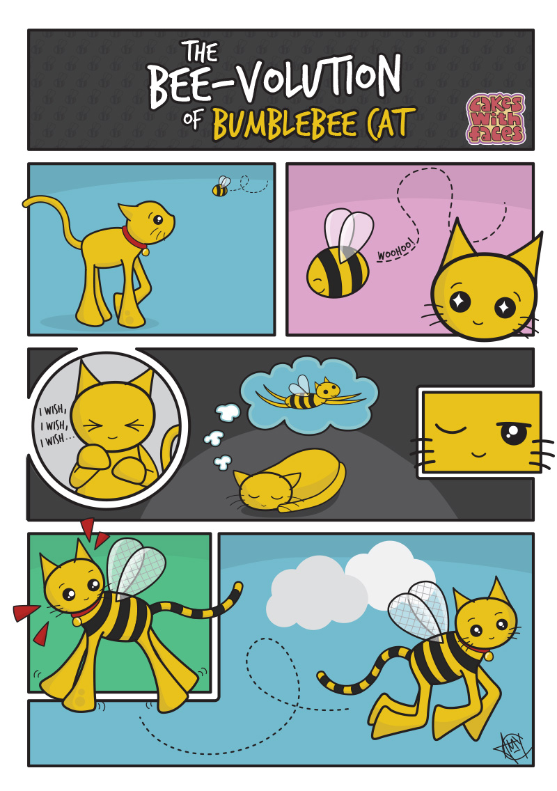 The Bee-volution of Bumblebee Cat