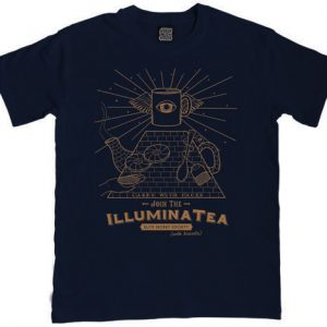 Illuminatea mens illuminati t-shirt