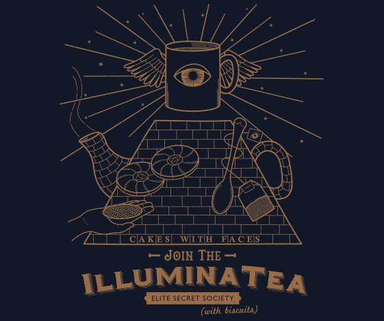 Illuminatea t-shirt / Illuminati