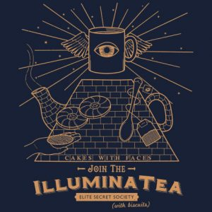 """Illuminatea"" Illuminati / Tea T-Shirt"