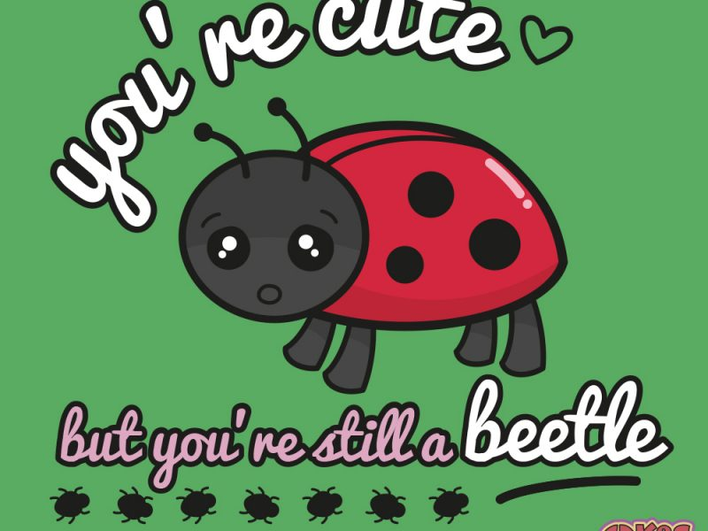 You're Cute but you're still a Beetle