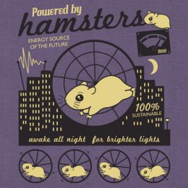 Powered by Hamsters T-Shirt