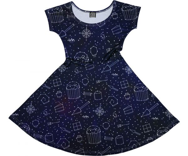 Starry Night Galaxy Dress