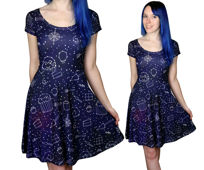 starry night dress - Christmas Party Dresses