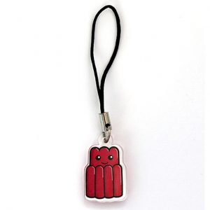 Jelly phone charm