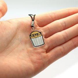Geek Cake Phone Charm