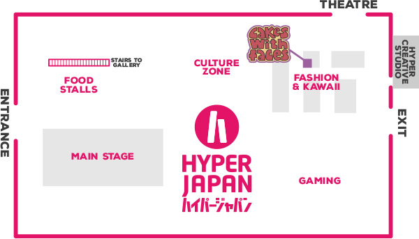 Hyper Japan Floor Plan July 2016