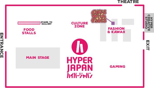 Hyper Japan Floor Plan July 2016