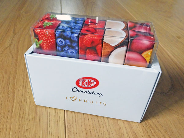 I Love Fruits Kitkats from the Kitkat Chocolatory in Tokyo