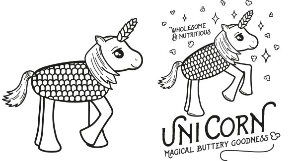 UniCorn T-Shirt Designs