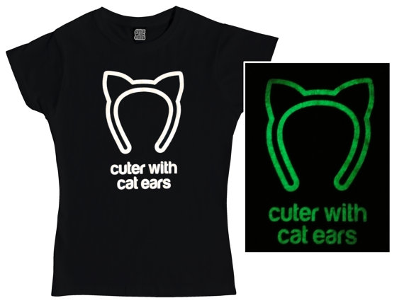 Cuter with Cat Ears T-Shirt