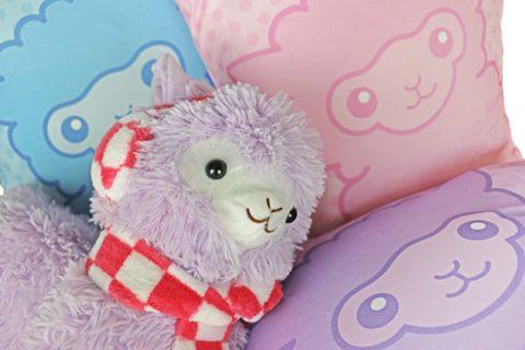 Alpaca-cushions