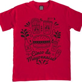 Cinco de Mayonnaise mens t-shirt