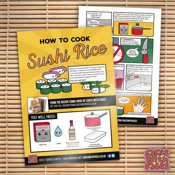 How to Cook Sushi Rice - Yutaka