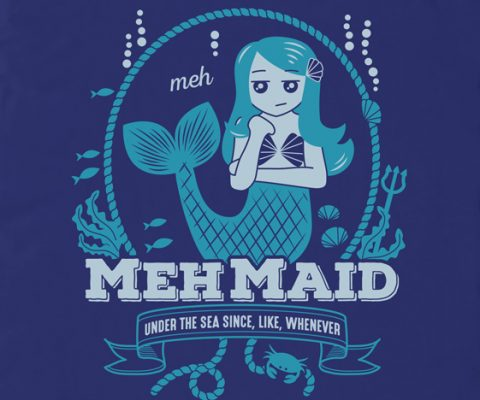 mehmaid-t-shirt-design