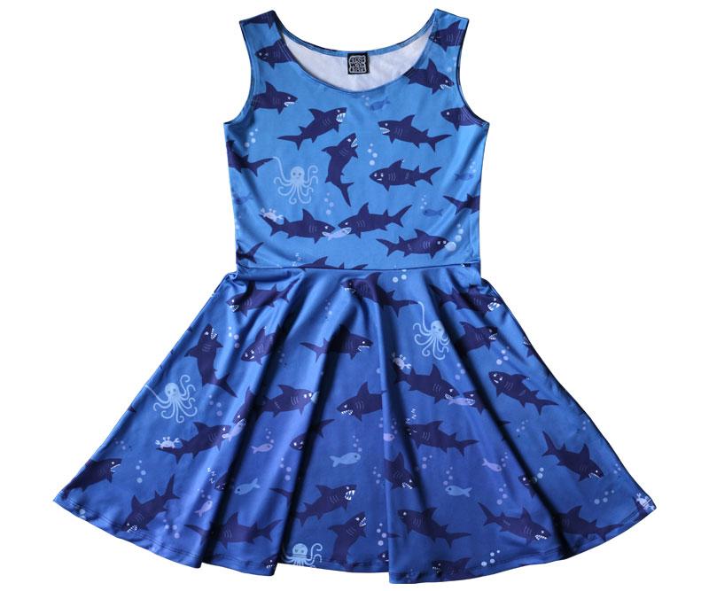 Shark Skater Dress