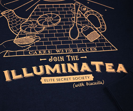 Illuminatea Sweatshirt Detail