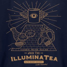 Illuminati tea sweater