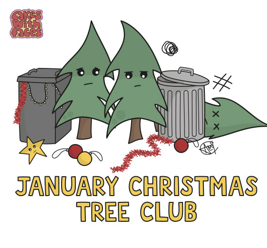 January Christmas Tree Club