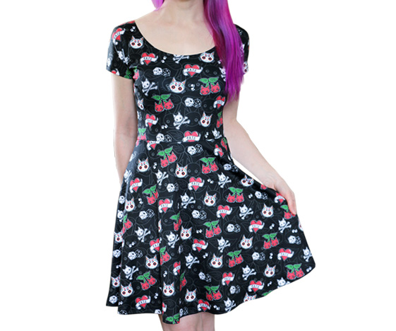 Cattoos Dress