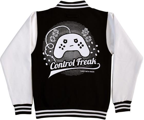 Control Freak Varsity Jacket