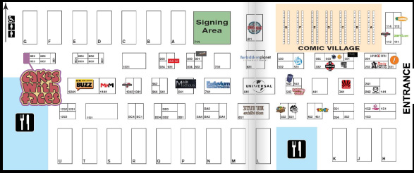 MCM Manchester 2017 floor plan
