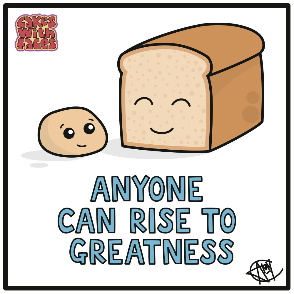 Anyone Can Rise to Greatness