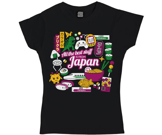 Japan Ladies T-Shirt