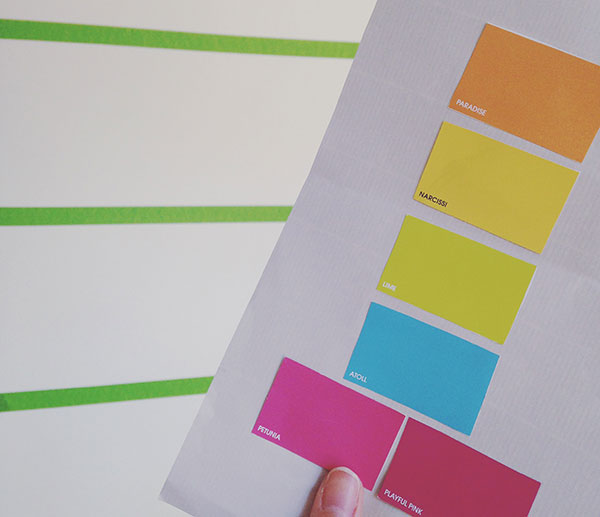 Planning paint colours