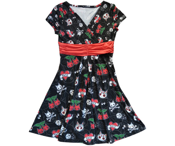 Cattoos Dress - Sample Sale