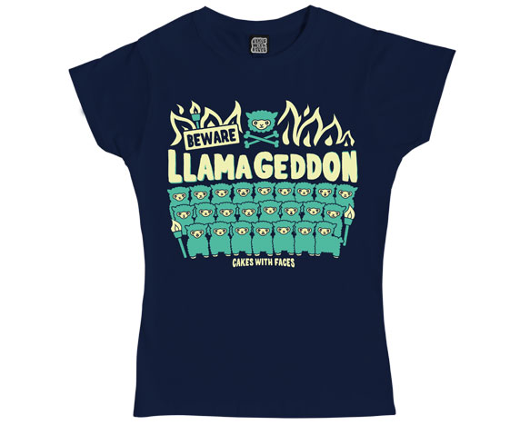 Llamageddon Ladies T-Shirt