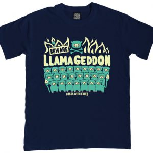 Llamageddon Mens T-Shirt
