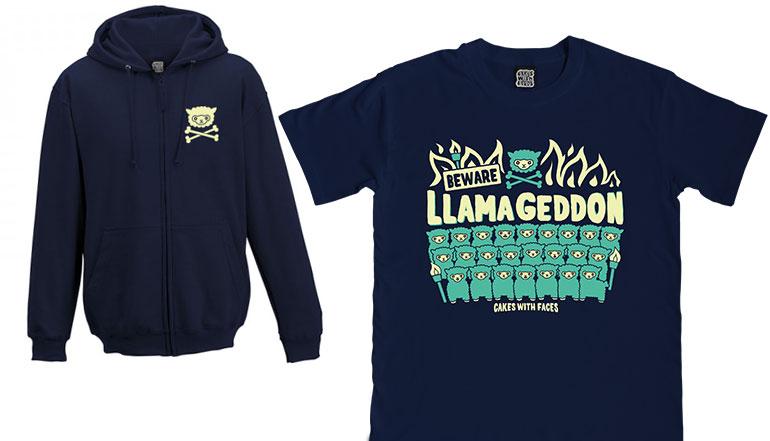 Llamageddon T-Shirt & Hoodie Pre-Order