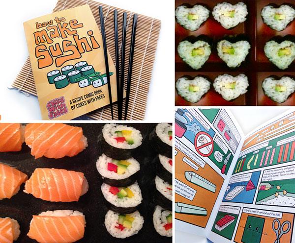 Valentines Sushi Gift