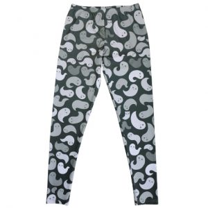 Monochrome Ghost Leggings