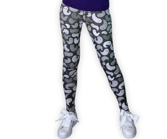 Cute Ghost Leggings